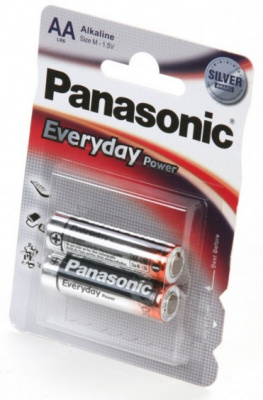 Элемент питания PANASONIC LR6 -AA- Everyday Power BL2
